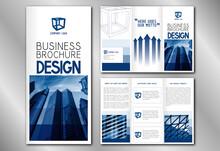Business Trifold Brochure Temp...