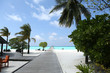 Beautiful landscape on Maldive islands