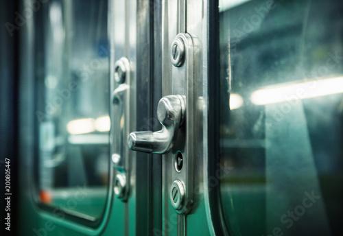 Metro door handles