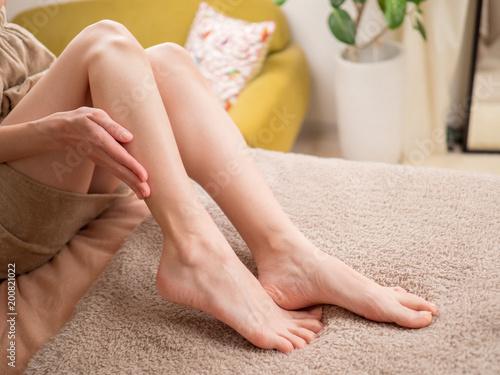 Fotografia  自宅でできる足のスキンケア