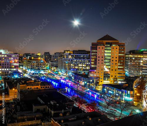 Fotografie, Obraz  Supermoon over Clarendon