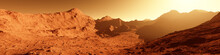 Wide Panorama Of Mars - The Re...