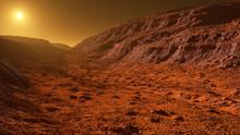 Mars - The Red Planet - Landsc...