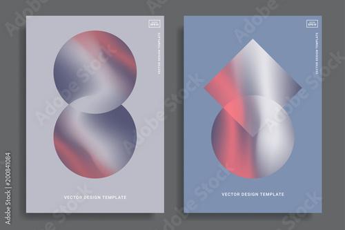 Vibrant gradient backgrounds Canvas Print