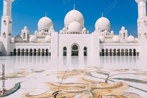 Canvas Prints Abu Dhabi Abu Dhabi grand Mosque
