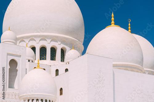 Photo  Abu Dhabi grand Mosque