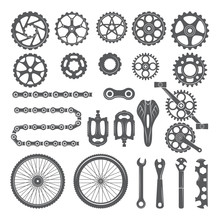 Gears, Chains, Wheels And Othe...