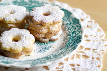 Canestrelli Biscuits On A Deco...