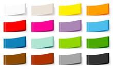Textile Label Set Color Mix