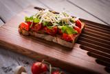 Tasty tomatoes bruschetta - 200875467