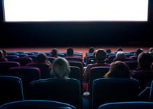 Viewers At Cinema