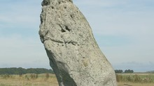 The Heel Stone At Stonehenge