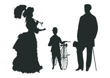 Victorian Age Family Picnic