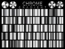 Chrome Background Texture Vect...