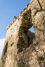 Ruined Castle, Candleston, Glamorgan, Wales