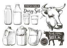 Bottles Jar Milk