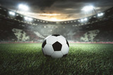 Fototapeta Sport - Fußball - Anstoß - Stadion