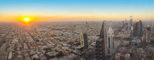 Aerial View Of Riyadh City, Th...