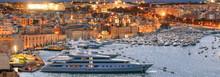 Valletta, Malta. View Of Grand...