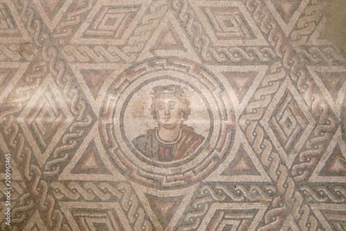 Piazza Armerina, Sicilia, Italia, pavimenti , mosaico - Buy this ...