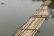 Old Bamboo Bridge Across The R...
