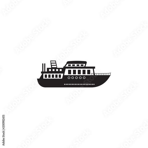 Fotografie, Obraz ferry icon