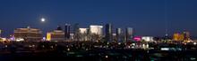 Las Vegas Skyline During A Ful...