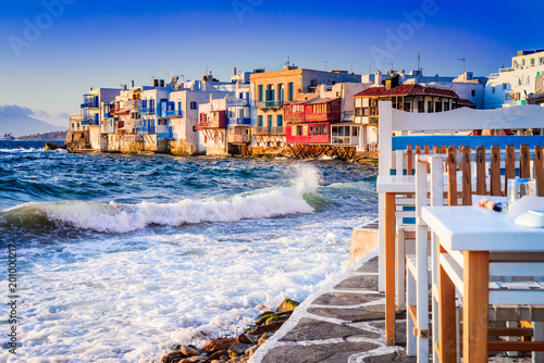 Obraz Mykonos, Greek Islands - Greece - fototapety do salonu