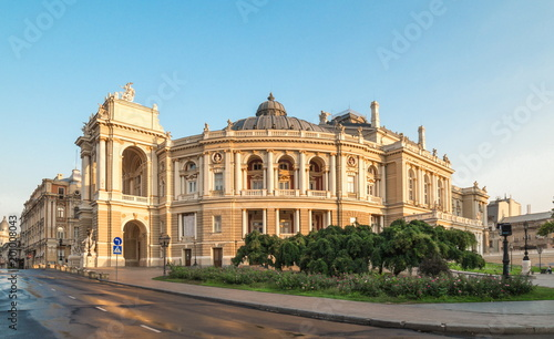 In de dag Theater Odessa Opera Theatre