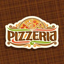 Vector Logo For Italian Pizzer...
