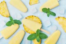 Homemade Pineapple Ice Cream O...