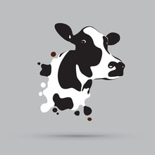 Abstract Cow Head