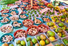 Lcoal Market Of Reunion Island...