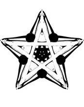 Decorative Abstraction Star In...