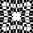 Abstraction decorative pattern in a black - white colors