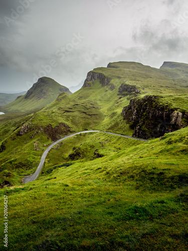 Staande foto Bleke violet Scotland Highland Landscape