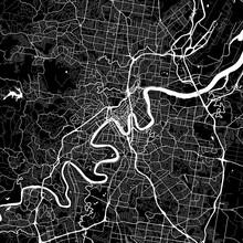 Area Map Of Brisbane, Australia