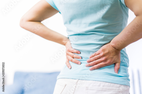 Fotografía  back pain at home
