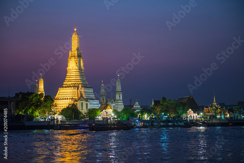 Wat Arun, the temple of dawn, Bangkok, Thailand