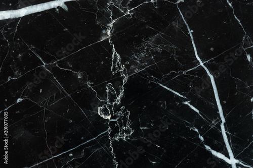 Foto  black marble texture pattern background