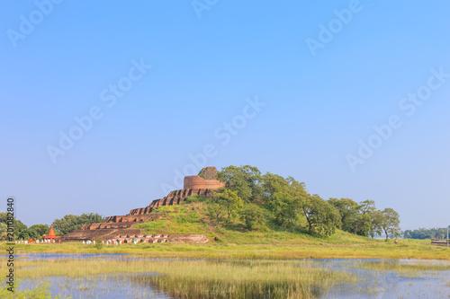 Fototapeta Kesaria Stupa, Champaran district of Bihar, India