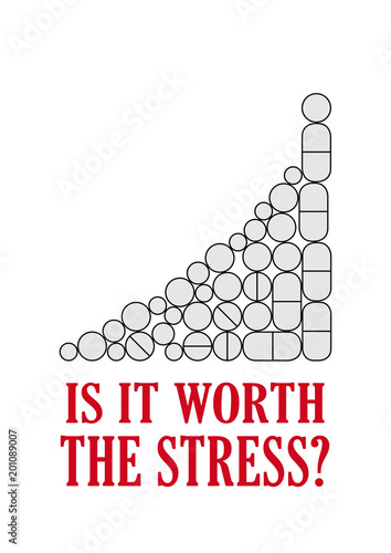 Photo Aphorism - Is it worth the stress?