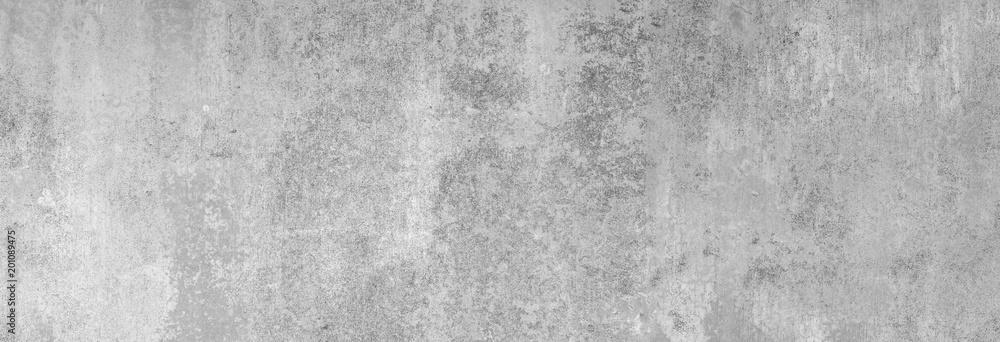 Fototapeta Textur einer grauen, strukturieren Sichtbeton-Wand in XXL als Hintergrund