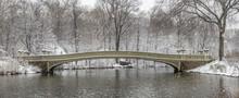 Bow Bridge Central Park Winter...