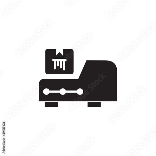 Printer Cartridge Icon Element Of Printing House Illustration