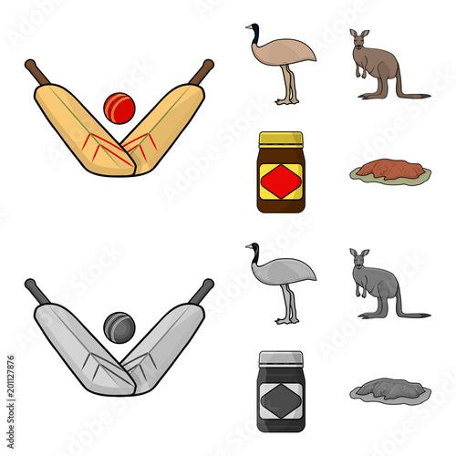 a game of cricket an emu ostrich a kangaroo a popular food rh stock adobe com Quiet Crickets Cartoon Funny Cricket Cartoons
