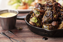 Brussel Sprouts Roasted In An ...