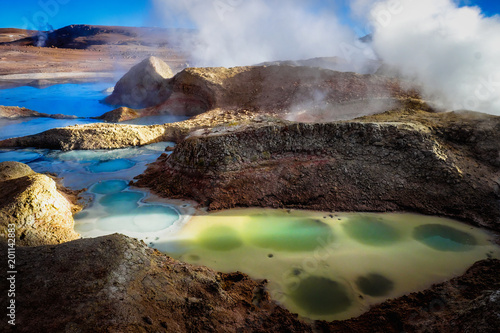Photo Geyser, Lagoon
