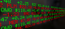Stock Market Ticker Prices Scr...