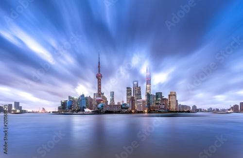 Poster Shanghai Shanghai skyline and cityscape
